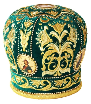 Embroidered mitre no.2