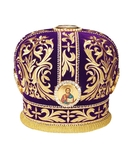 Mitres: Embroidered mitre no.5a