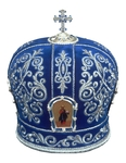 Mitres: Embroidered mitre no.10