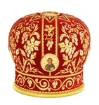 Mitres: Embroidered mitre no.12