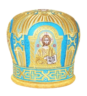 Mitres: Embroidered mitre no.16