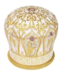 Mitres: Embroidered mitre no.17a
