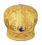 Mitres: Embroidered mitre no.19