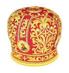 Mitres: Embroidered mitre no.19a