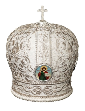 Mitres: Embroidered mitre no.20