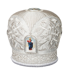 Mitres: Embroidered mitre no.30