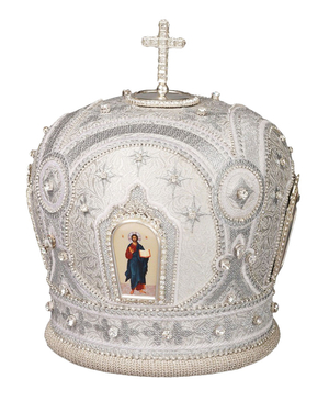 Mitres: Embroidered mitre no.51