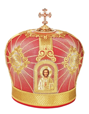 Mitres: Embroidered mitre no.68
