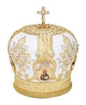Mitres: Embroidered mitre no.73