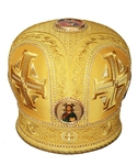 Mitres: Embroidered mitre no.74