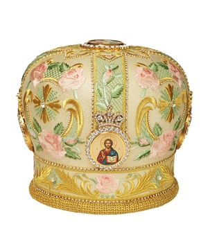 Mitres: Embroidered mitre no.81
