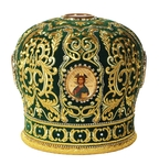 Mitres: Embroidered mitre no.86
