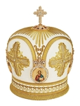 Mitres: Embroidered mitre no.88