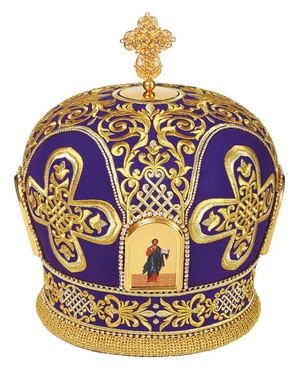 Mitres: Embroidered mitre no.89