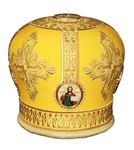 Mitres: Embroidered mitre no.90