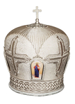 Mitres: Embroidered mitre no.99