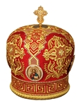 Mitres: Embroidered mitre no.96