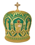 Mitres: Embroidered mitre no.97