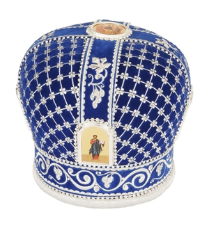 Mitres: Embroidered mitre no.105