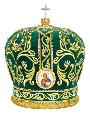 Mitres: Embroidered mitre no.501