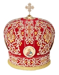 Mitres: Embroidered mitre no.504