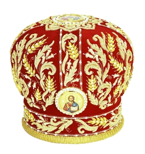Mitres: Embroidered mitre no.510
