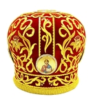 Mitres: Embroidered mitre no.511