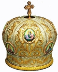 Mitres: Embroidered mitre no.530