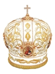 Mitres: Embroidered mitre no.531