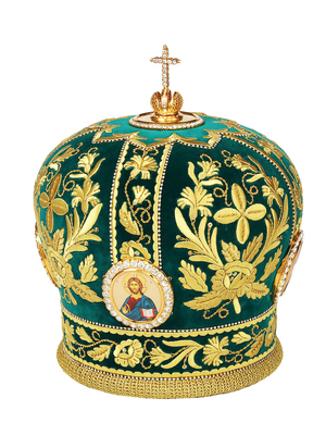 Mitres: Embroidered mitre - 48