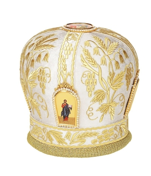 Mitres: Embroidered mitre - 52