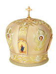 Mitres: Embroidered mitre - 55