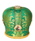 Mitres: Priest mitre - 59 (green)