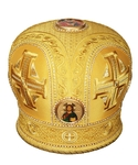 Mitres: Embroidered Bishop mitre - 43