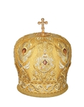 Mitres: Embroidered Bishop mitre - 63