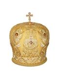 Mitres: Embroidered Bishop mitre - 63