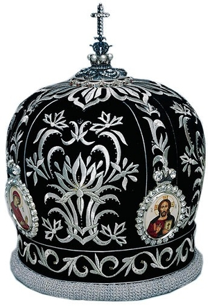 Mitres: Embroidered Bishop mitre - 66