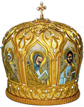 Mitres: Embroidered Bishop mitre - 73