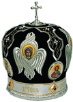 Mitres: Embroidered Bishop mitre - 75