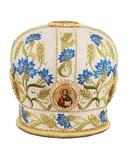 Mitres: Embroidered Bishop mitre - 76