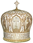 Mitres: Embroidered Bishop mitre no.17