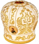 Mitres: Embroidered Bishop mitre no.4