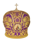 Mitres: Embroidered Bishop mitre no.47
