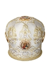 Mitres: Embroidered Bishop mitre no.502