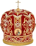 Mitres: Embroidered Bishop mitre no.505