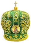 Mitres: Embroidered Bishop mitre no.507