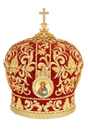 Mitres: Embroidered Bishop mitre no.508