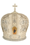 Mitres: Embroidered Bishop mitre no.512