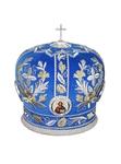 Mitres: Embroidered Bishop mitre no.513
