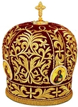 Mitres: Embroidered Bishop mitre no.519